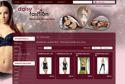 Webdesign Daisy Fashion